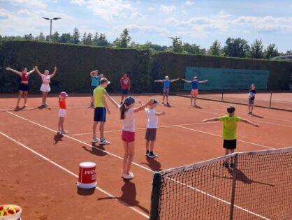 Gelungene Abschlussveranstaltung der Tennis AG