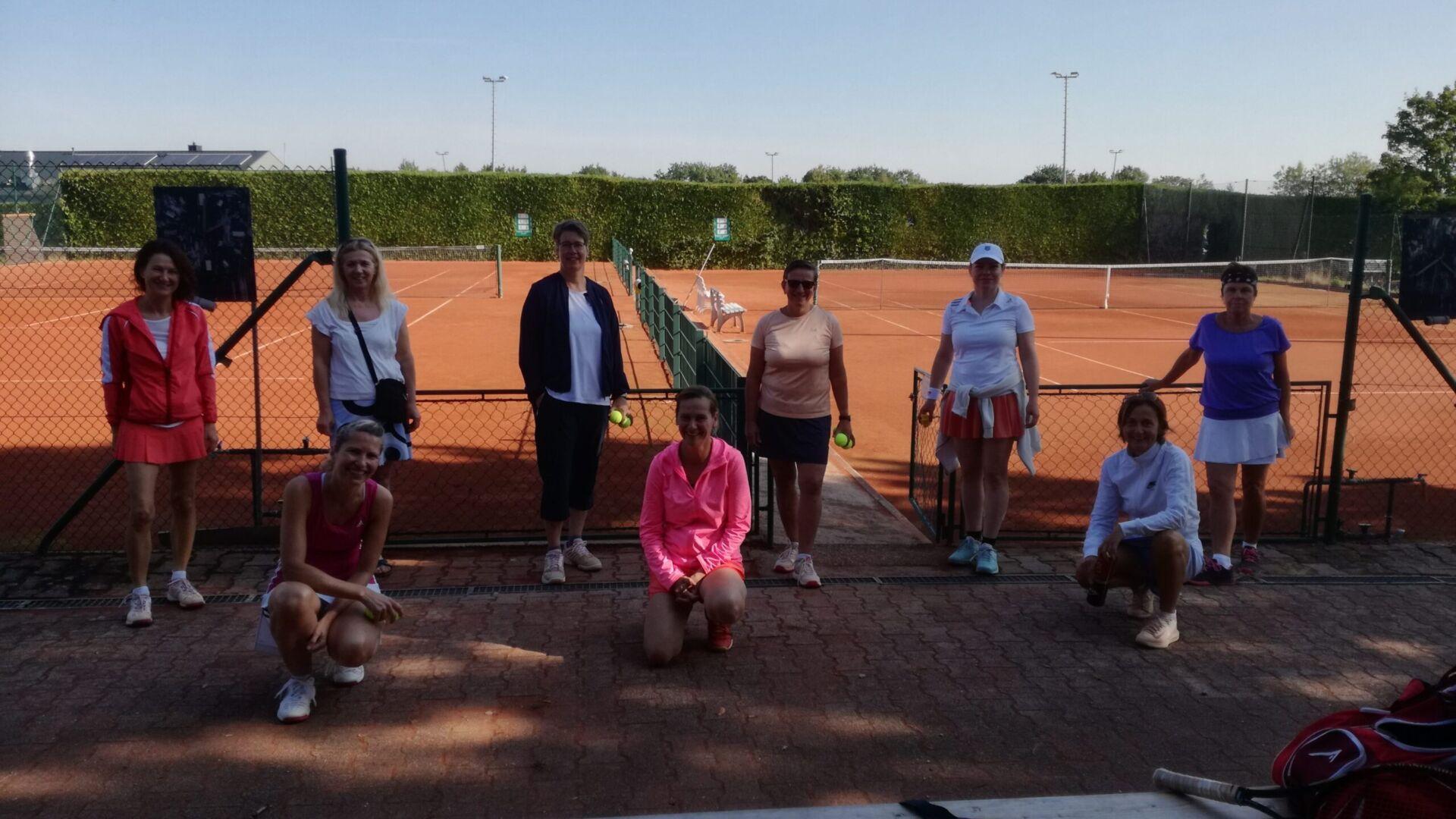 Freundschaftsspiel der Damen 40/2 gegen die Damen aus Birkenfeld