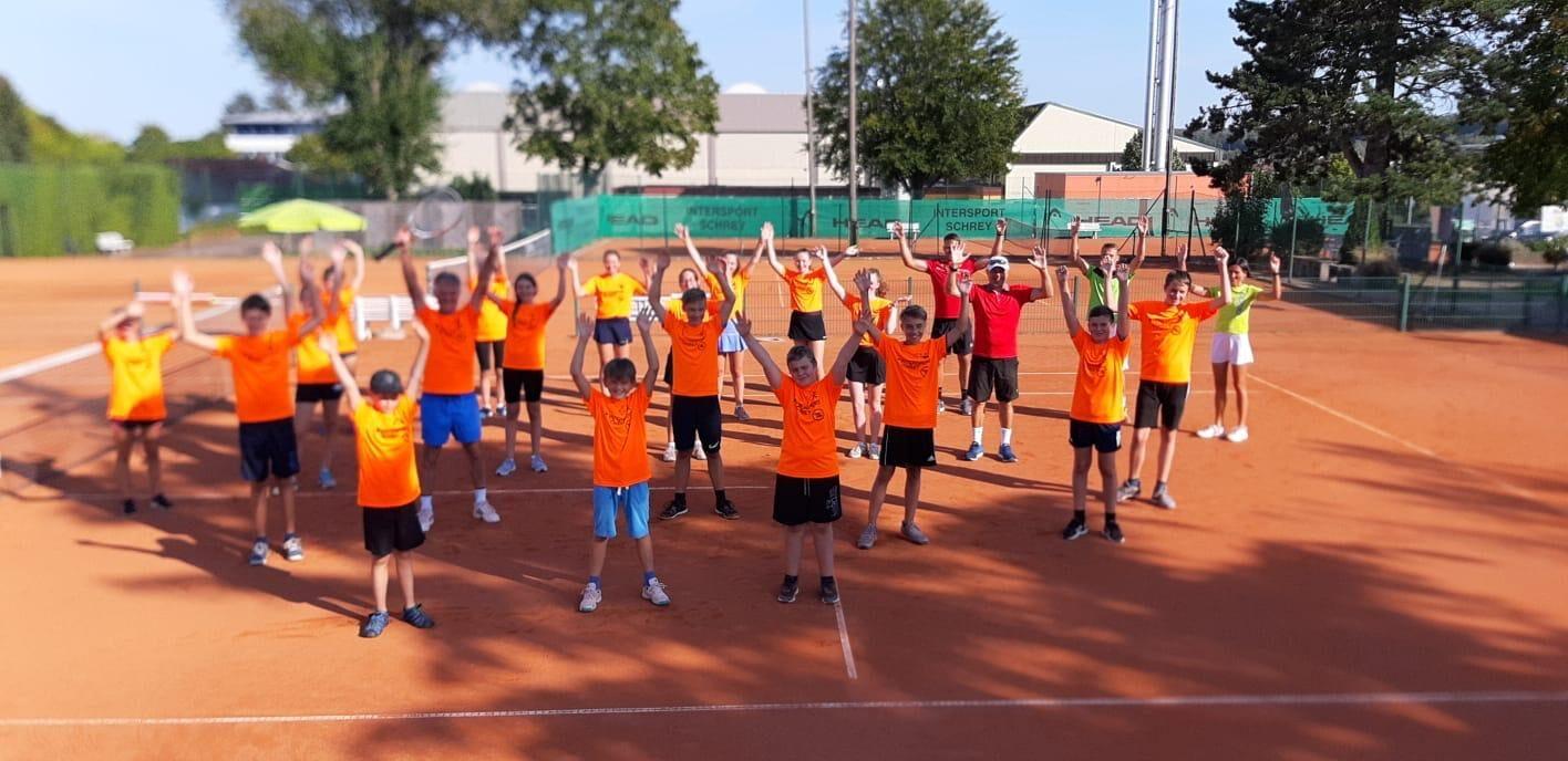 Das Tennis-Sommercamp war ein voller Erfolg