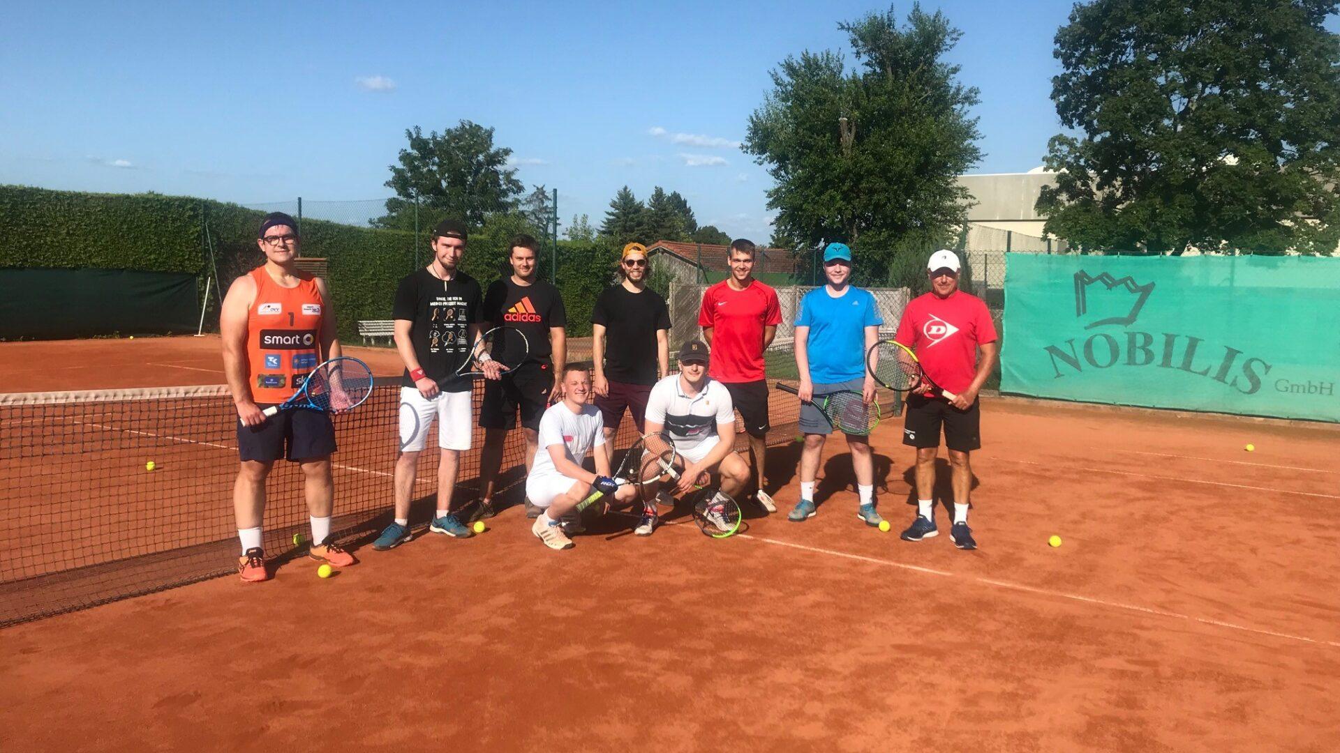 Das erste Mal ein Young Player Event auf unserer Tennis- Anlage